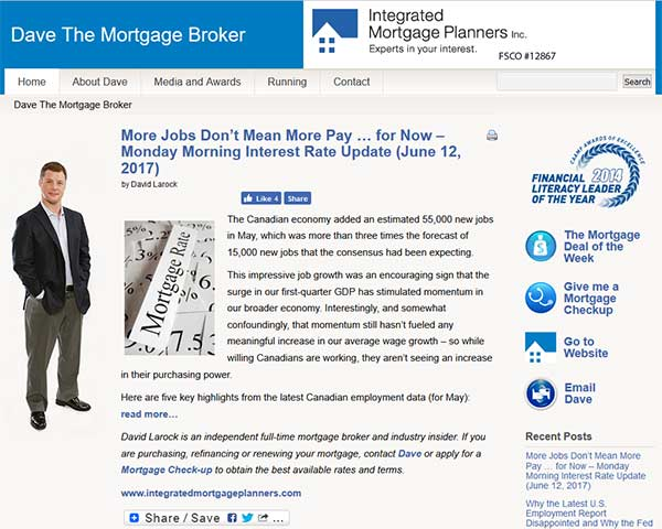 Dave The Mortgage Broker