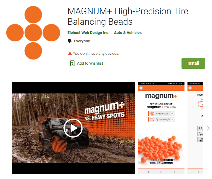 Magnum Plus Tire Balancing Compound