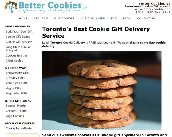 Better Cookies - Cookie Delivery in Toronto