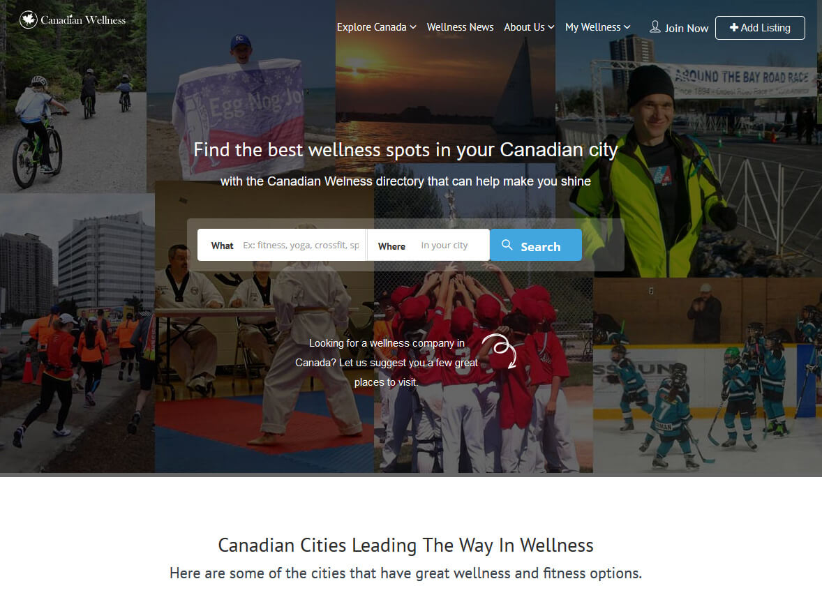 Canadian Wellness Directory