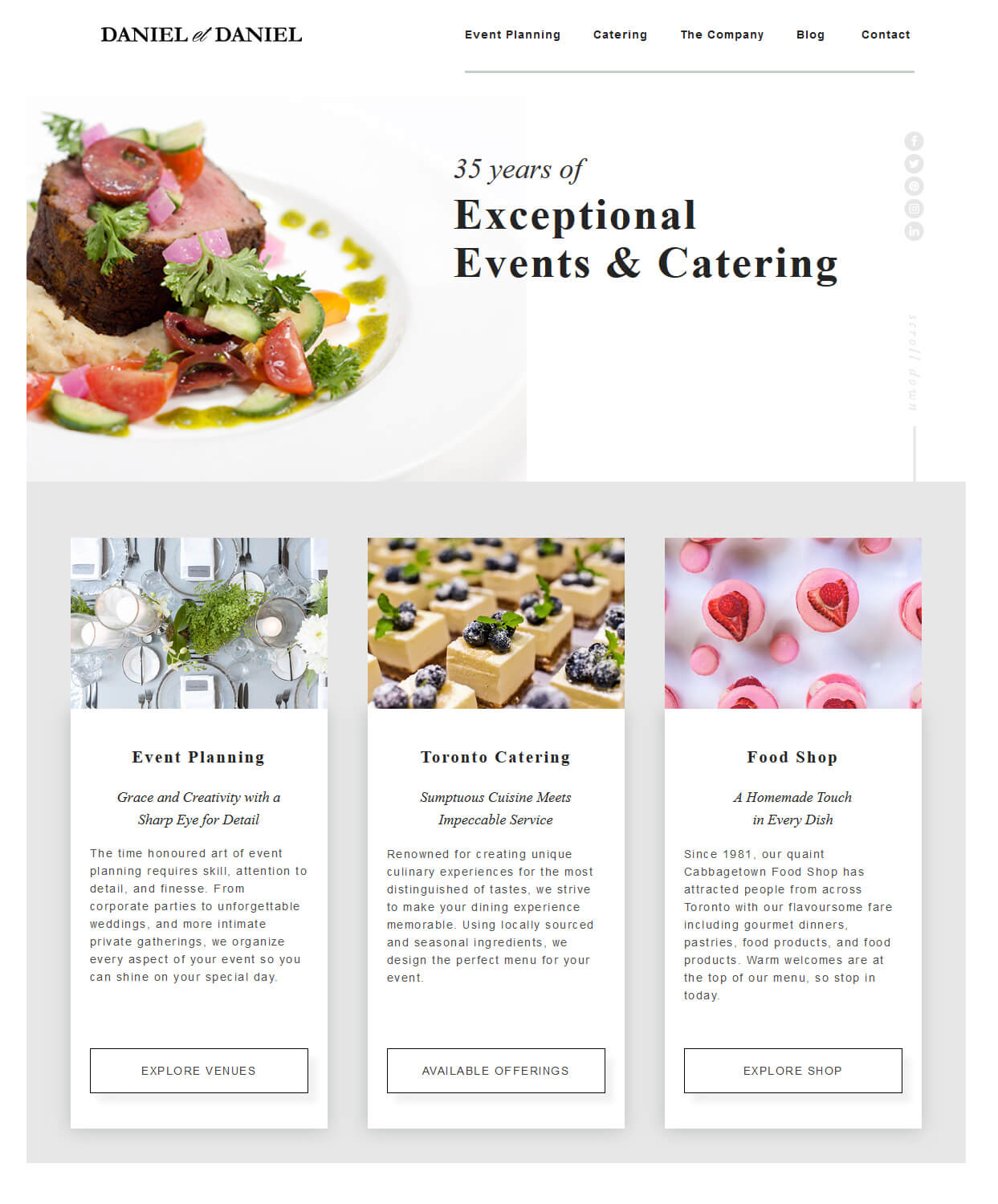 Toronto Catering and Event Planning