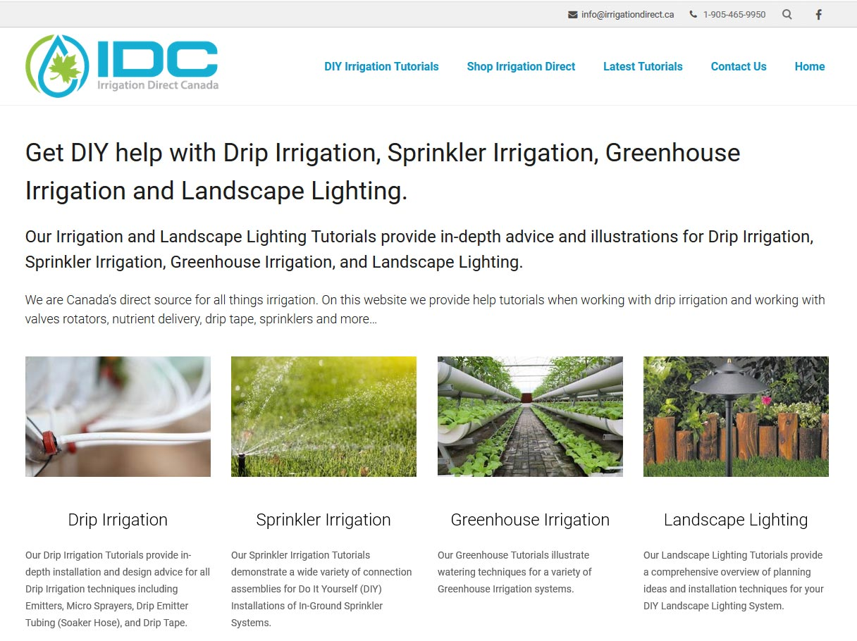 DIY Irrigation Solutions