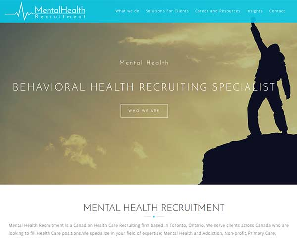 Mental Health Recruitment in Toronto, Canada